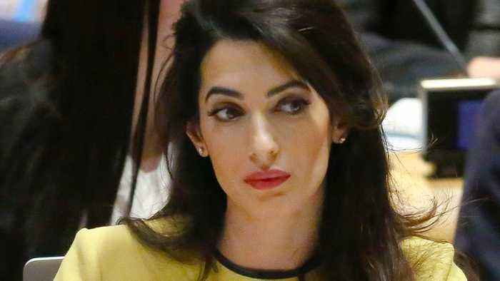 Amal Clooney Works To Free Reuters Reporters