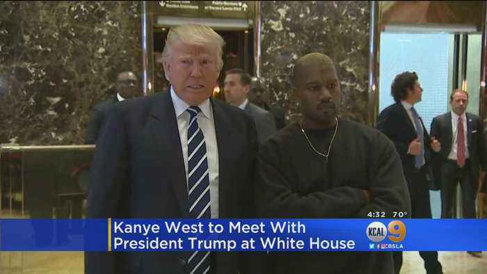 Kanye West To Meet With President Trump At White House