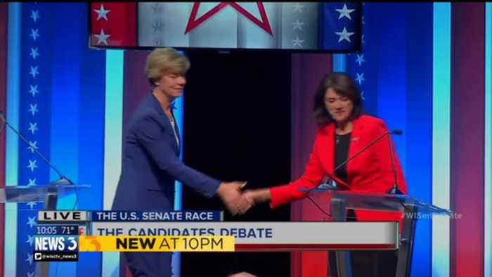 Wisconsin US Senate debate tense, combative