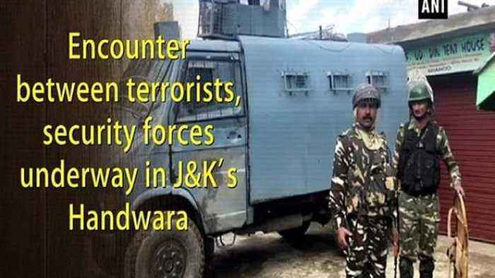Encounter between terrorists, security forces underway in J&K's Handwara
