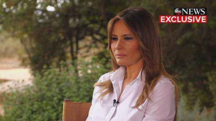 News video: Melania Trump Says She's the Most Bullied Person in Interview