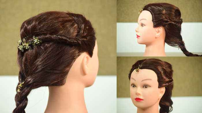 Hairstyle Tutorial For Garba Night One News Page Video