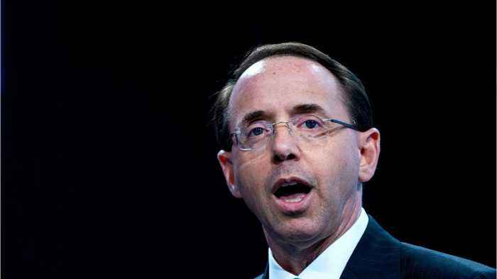 Rosenstein Is In The Sights Of Congress