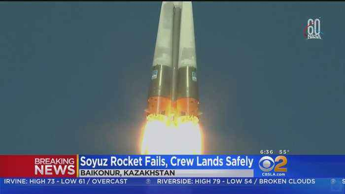 Soyuz Rocket Fails 2 Minutes After Launch