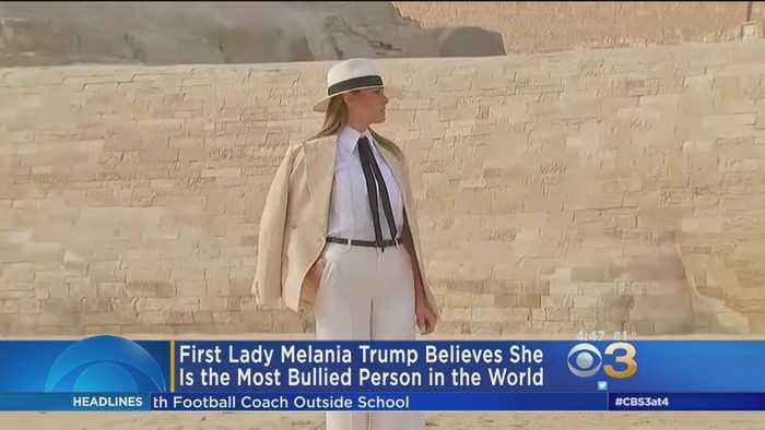 First Lady Melania Trump Believes She's 'The Most Bullied Person' In The World