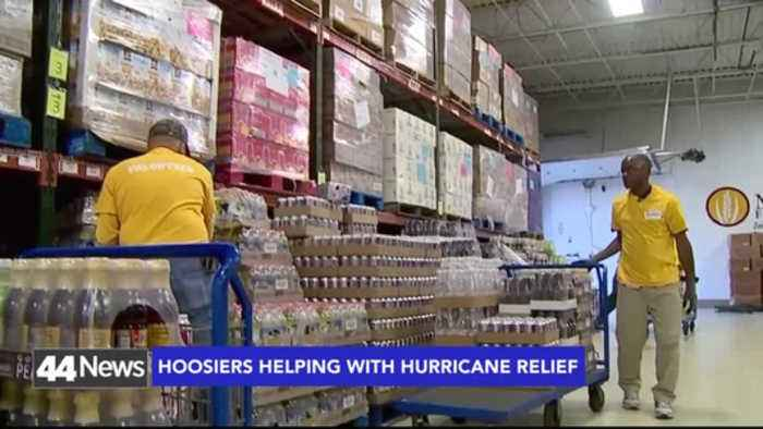 News video: Hoosier  Volunteers Gear Up For Hurricane Michael Relief