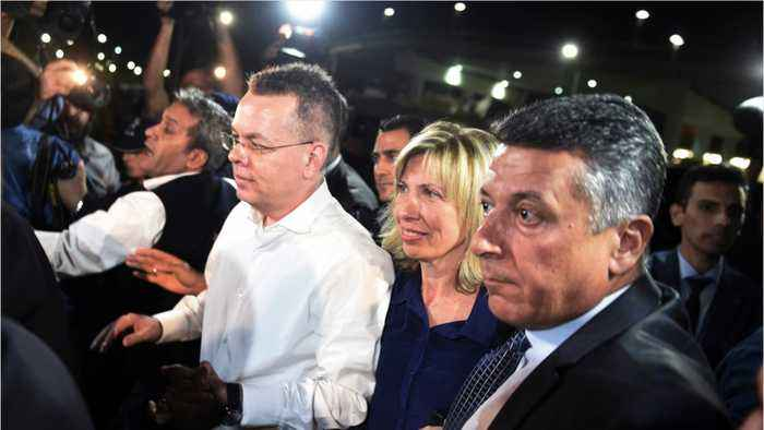 U.S. Pastor Brunson Leaves Turkey After Being Released From Prison