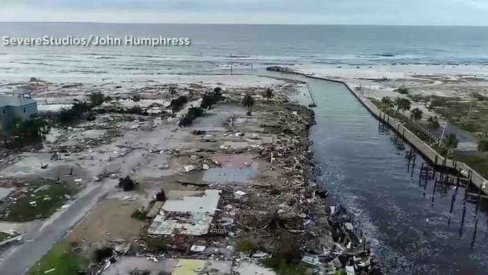 News video: Hurricane Michael Leaves Trail of Devastation in Northwest Florida