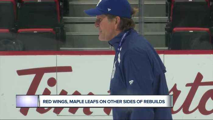 Red Wings, Maple Leafs on opposite sides of rebuild