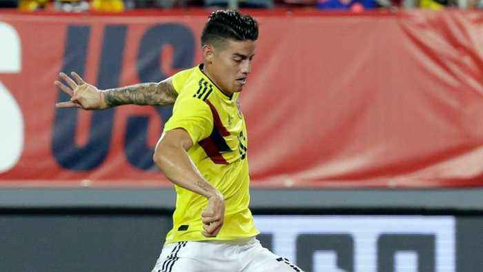 James Rodriguez Scores Incredible Goal Against Team USA