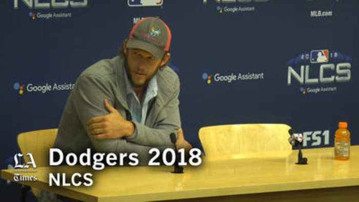 Clayton Kershaw discusses preparing for Brewers hitters