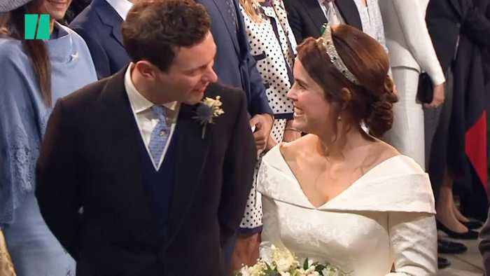 News video: The Best Moments From Princess Eugenie's Star-Studded Wedding