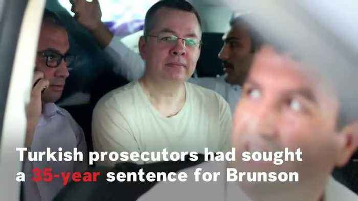 News video: American Pastor Andrew Brunson Freed By Turkey