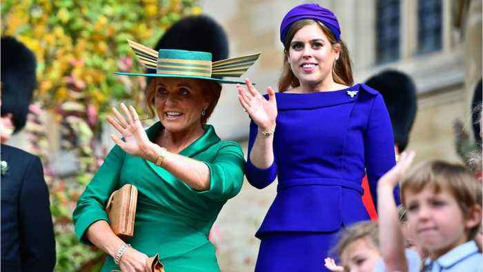 It's All About Fergie's Hat At Princess Eugenie's Wedding