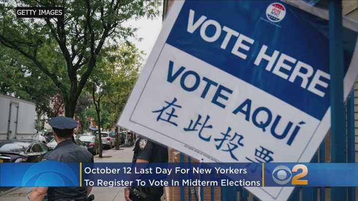 New Yorkers: Today Is Last Day To Register To Vote In Midterm Elections