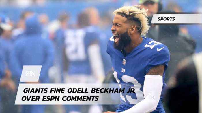Odell Beckham JR Was Told To Tone It Down