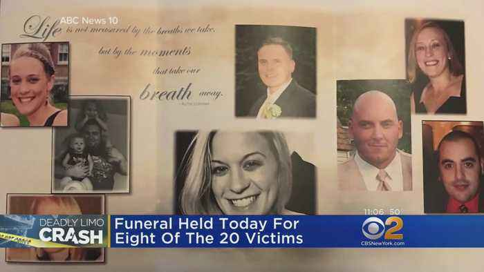 Funeral Held For 8 Victims Of Deadly Limo Crash