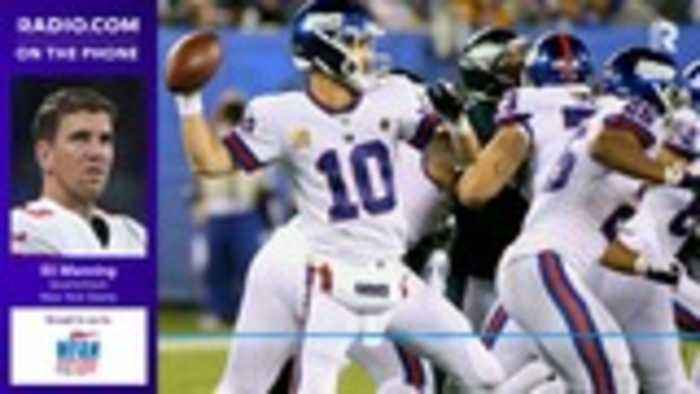 Eli Manning: 'I feel like we can make some plays down the field'
