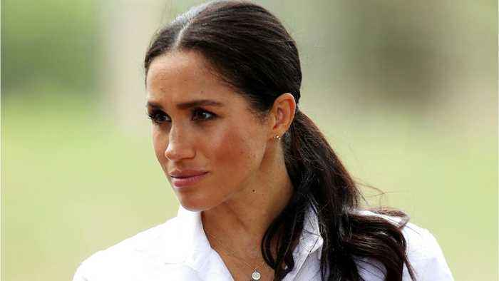 Meghan Markle Wore A Ponytail On Her Australian Royal Tour