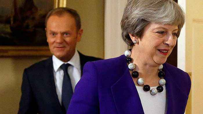 Tusk: 'No grounds for optimism' on Brexit negotiations ahead of Brussels summit