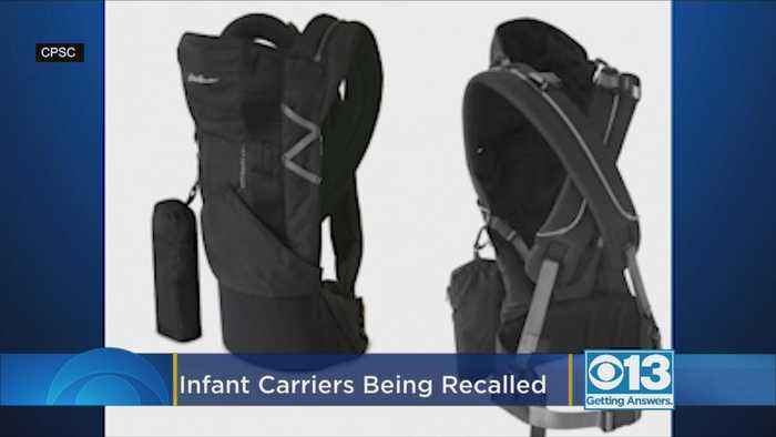 22,000 Infant Carriers Sold At Target Recalled Because Buckles Can Break