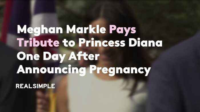 Meghan Markle Pays Tribute to Princess Diana One Day After Announcing Pregnancy
