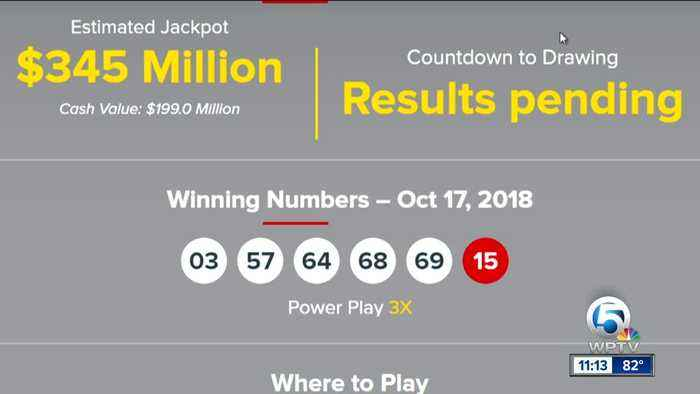 Ct lottery powerball prizes 1/13/16