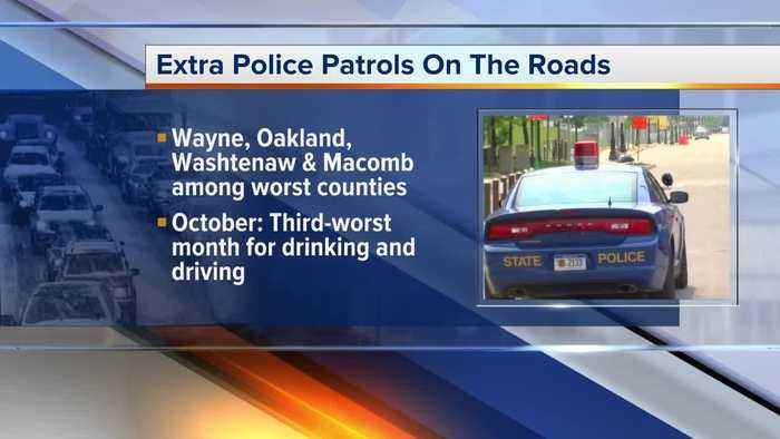 October is a deadly month in Michigan for drivers, police trying to change that