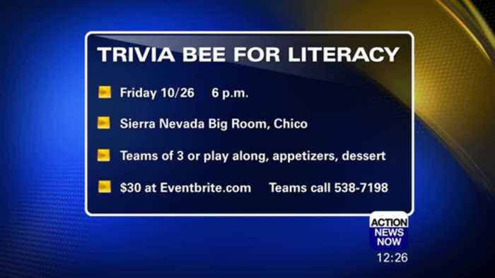 Trivia Bee for Literacy