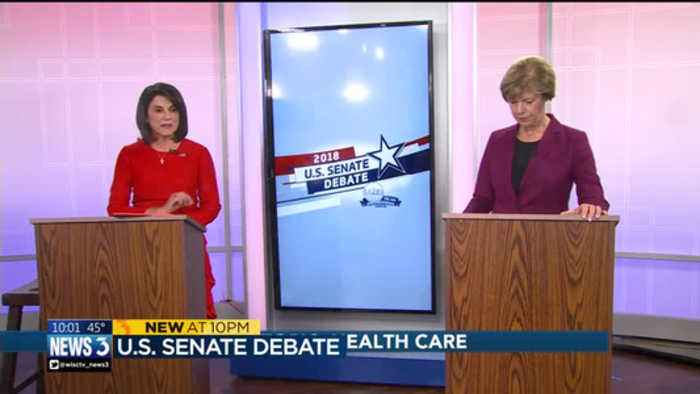 Vukmir, Baldwin spare over health care, supreme court in senate debate
