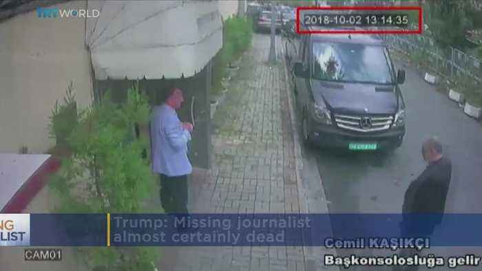 Trump: Missing Journalist Almost Certainly Dead