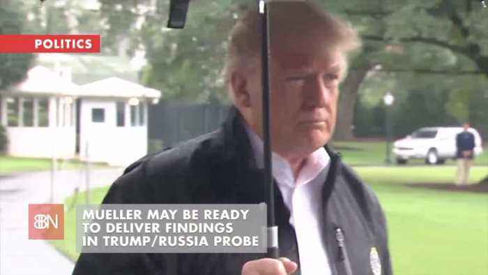 Is Robert Mueller About To Give His Trump Report