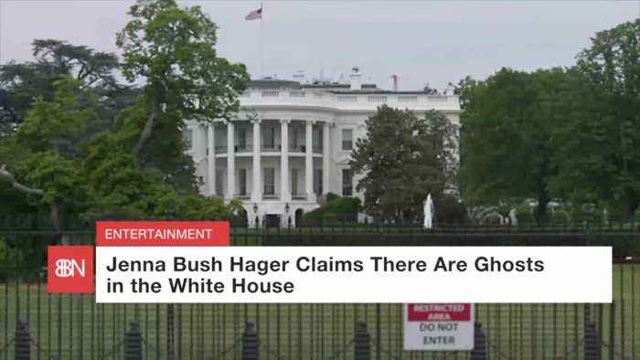 President Bush's Daughters Say There Are Ghosts In The White House