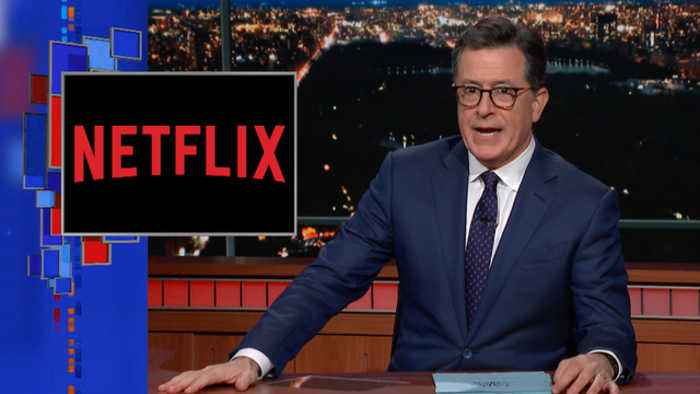 Netflix Movie Posters Might Be Pandering To You (The Late Show with Stephen Colbert)