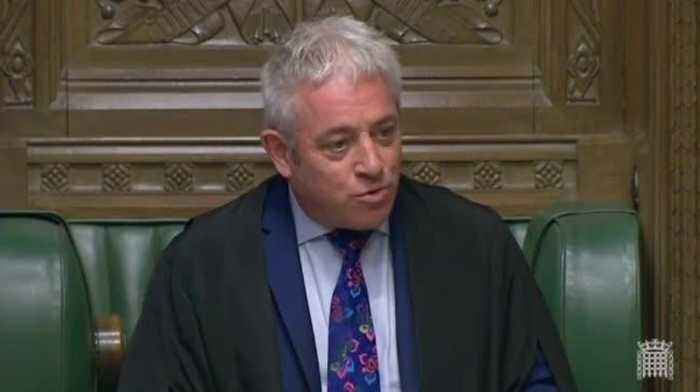 Speaker John Bercow Calls Tommy Robinson A 'Loathsome, Obnoxious, Repellent Individual'