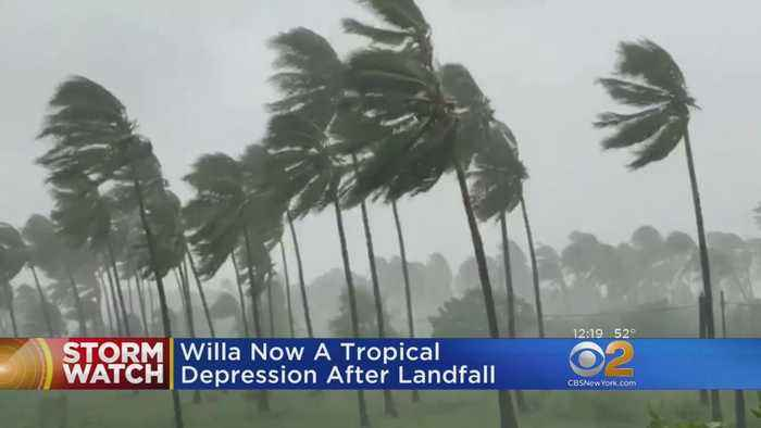 Hurricane Willa Weakens To Tropical Depression After Landfall