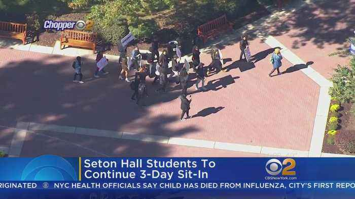 Seton Hall Students Hold Sit-In