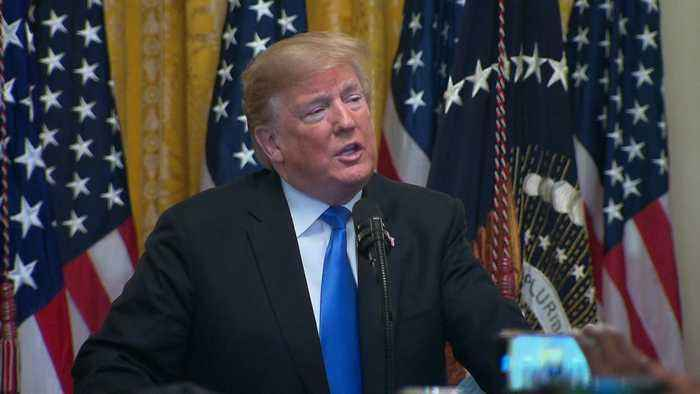 President Trump Condemns Political Violence After Bomb Suspect Arrested