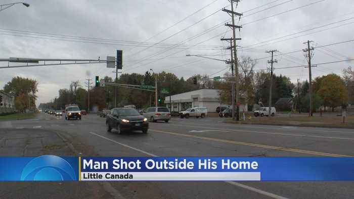 Man Shot Outside Little Canada Home