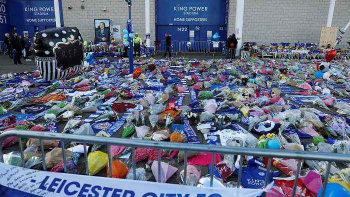 Leicester City FC owner among five people killed in stadium helicopter crash