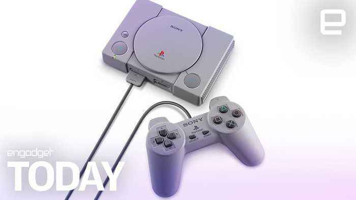 Sony reveals the complete list of PlayStation Classic games (Engadget Today)