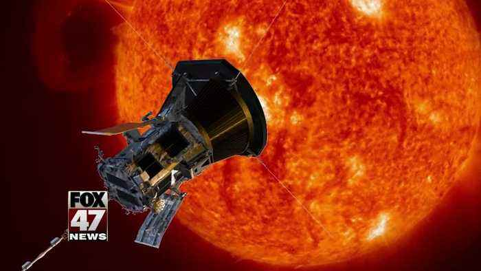 NASA breaks record in distance to the sun