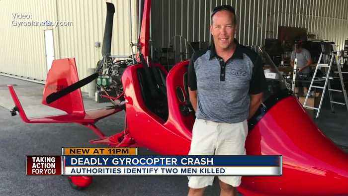 Pilot killed in Sebring gyrocopter crash was father, husband, avid test pilot