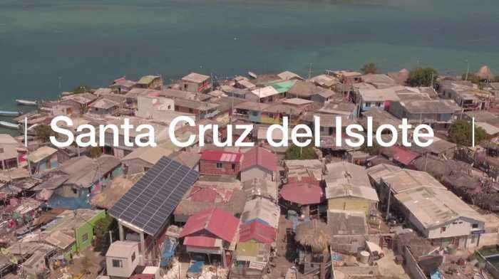 The world's most densely populated isle