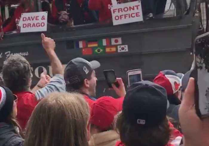 'Good Times Never Felt So Good': Boston Fans Sing 'Sweet Caroline' During World Series Parade