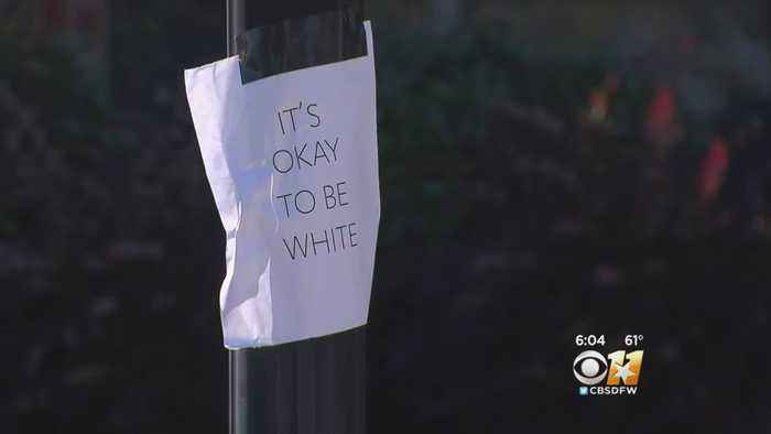 'It's Ok To Be White' Signs Pop Up In Fort Worth Neighborhood