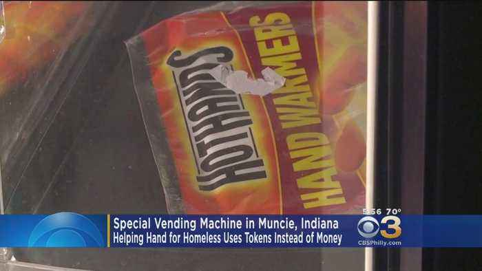 Special Vending Machine Carters To Needs Of Homeless People