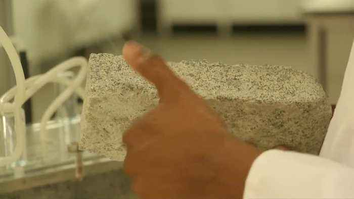 South African students make human urine bricks from