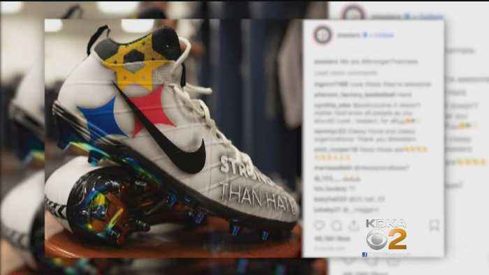 Ben Roethlisberger Wears 'Stronger Than Hate' Cleats After Synagogue Shooting