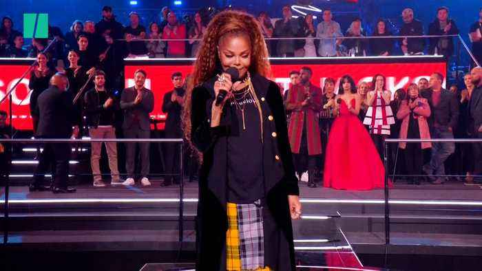 Janet Jackson Speaks Out For Women As She Wins Global Icon Award At MTV EMAs